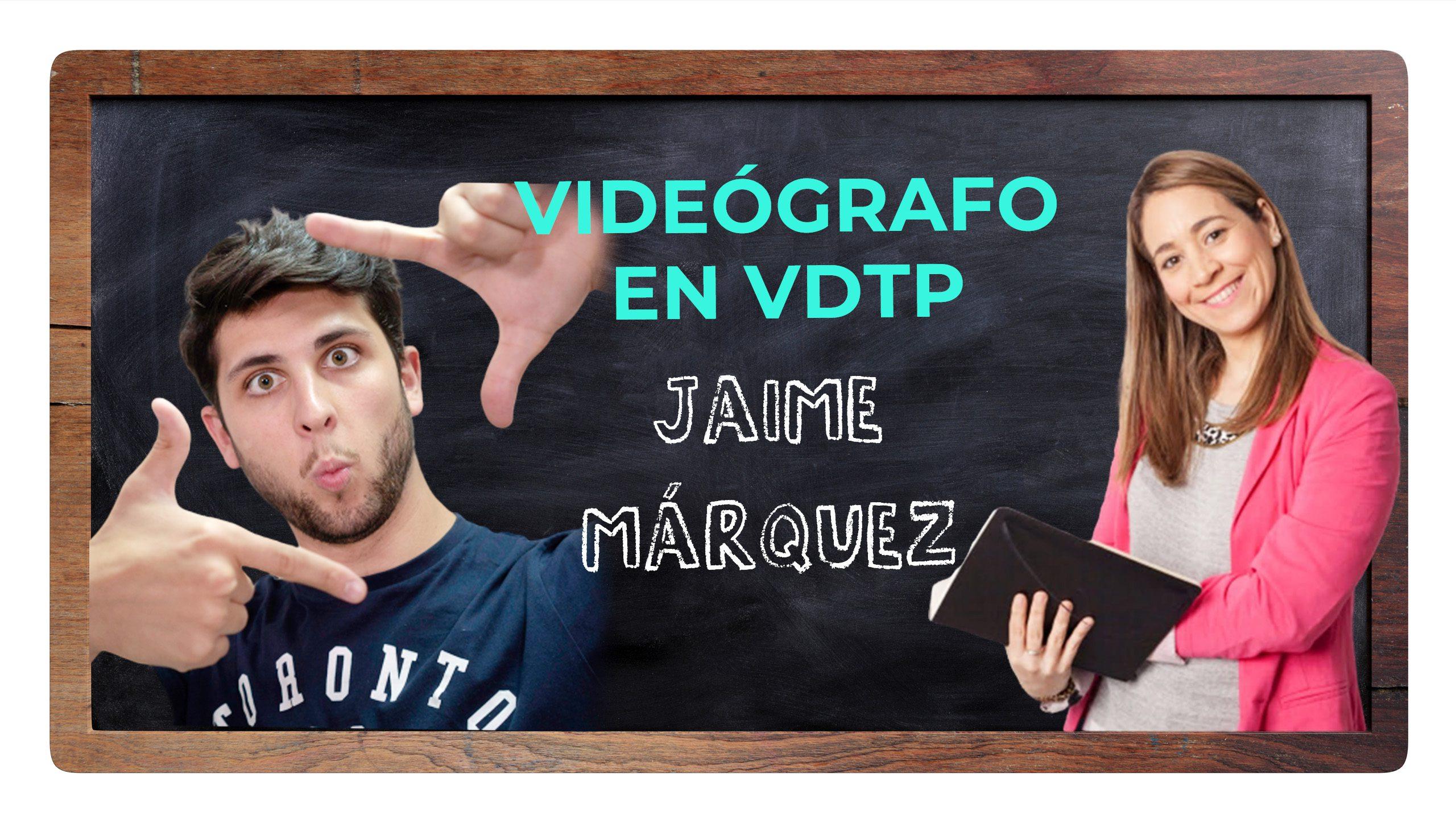 Trucos y herramientas para grabar tus vídeos con buena calidad con Jaime Márquez