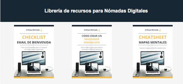 Libreria de recursos proivada Nomadas Digitales